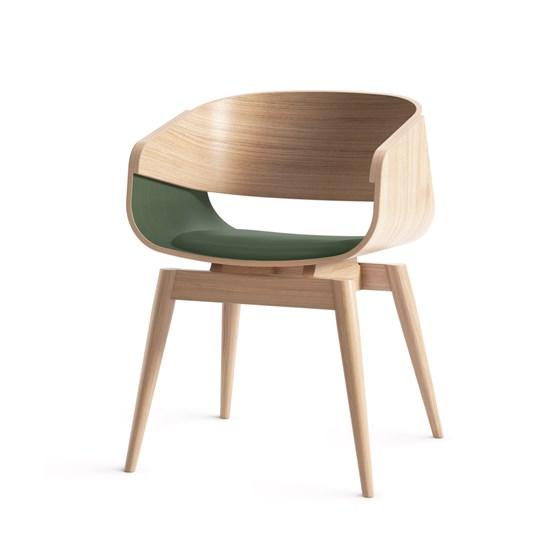Fauteuil 4th ARMCHAIR SOFT - vert - Design : Almost