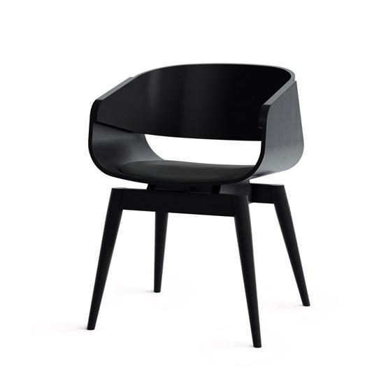 Fauteuil 4th ARMCHAIR COLOR SOFT - noir - Design : Almost