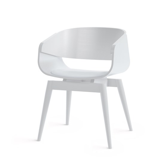 Fauteuil 4th ARMCHAIR COLOR SOFT - blanc - Design : Almost