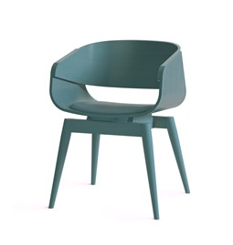 Fauteuil 4th ARMCHAIR COLOR SOFT - bleu
