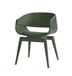 Fauteuil 4th ARMCHAIR COLOR SOFT - vert