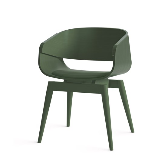 Fauteuil 4th ARMCHAIR COLOR SOFT - vert - Design : Almost