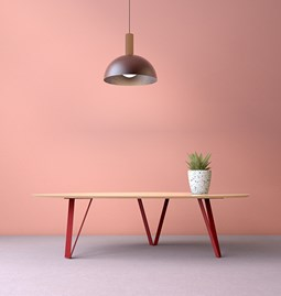 Table basse RICHARD Jr. - Rouge brun