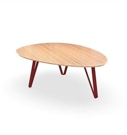 Table basse RICHARD Jr. - Rouge brun