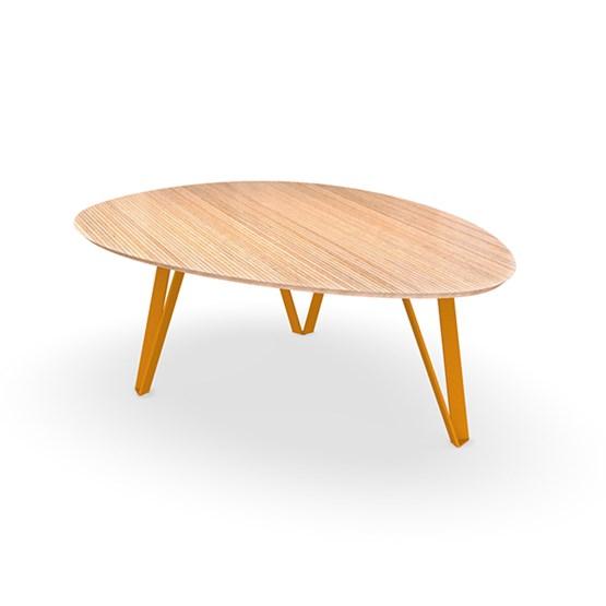 Table basse RICHARD Jr. - Jaune narcisse - Design : Bonome