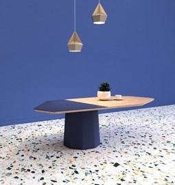 Table basse JACQUES - Bleu saphir