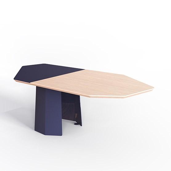 Table basse JACQUES - Bleu saphir - Design : Bonome