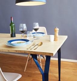 Table RICHARD Sr. - Bleu acier