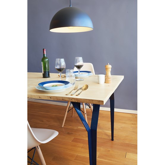 Table RICHARD Sr. - Bleu acier - Design : Bonome