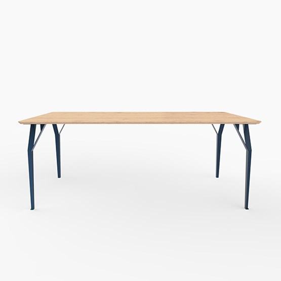 Table RICHARD Sr. - Bleu acier - Design : Bonome