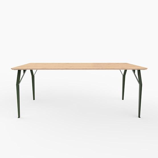 Table RICHARD Sr. - Vert oxyde - Design : Bonome
