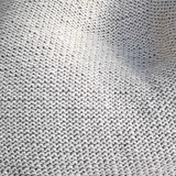 Knitted woolen bean bag - grey 3