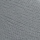 Pouf poire en laine tricotée - gris 3