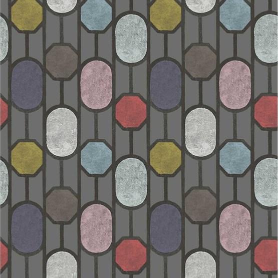 ESTE Wallpaper, Dark Grey - Design : Tenue de Ville
