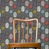 ESTE Wallpaper, Dark Grey 3