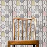 ESTE Wallpaper, light grey background  2