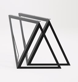 Steel Stand (set of two stands) - ink black