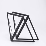 Steel Stand (set of two stands) - black 2