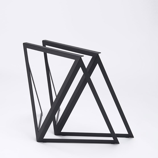 Steel Stand (set of two stands) - black - Design : NEO/CRAFT