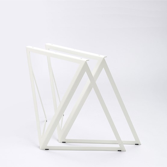 Steel Stand (set of two stands) - cream white - Design : NEO/CRAFT