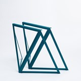Steel Stand (set of two stands) - blue 4