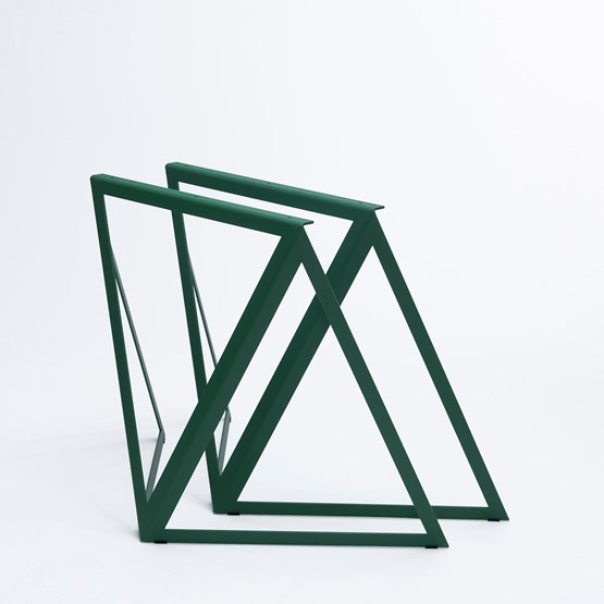 Steel Stand (set of two stands) - green - Design : NEO/CRAFT