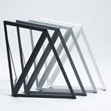 Tréteaux en acier (ensemble de deux) - gris 5