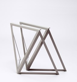 Steel Stand (set of two stands) - grey