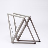 Steel Stand (set of two stands) - grey 4