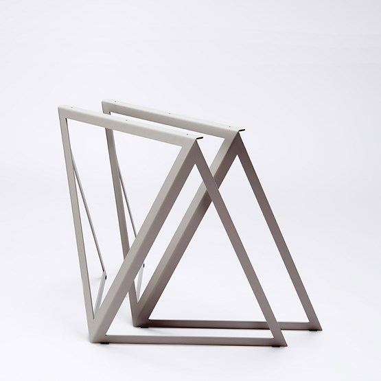 Steel Stand (set of two stands) - grey - Design : NEO/CRAFT