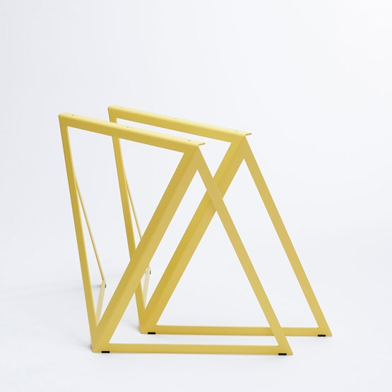 Steel Stand (set of two stands) - yellow - Design : NEO/CRAFT