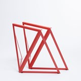 Steel Stand (set of two stands) - red 4