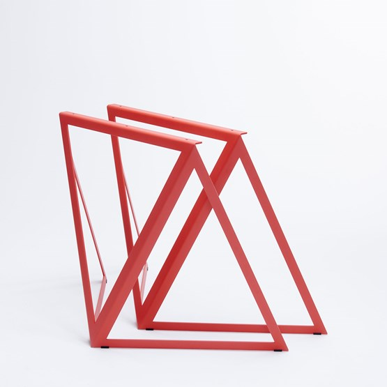 Steel Stand (set of two stands) - red - Design : NEO/CRAFT