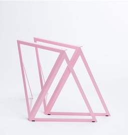 Steel Stand (set of two stands) - pink