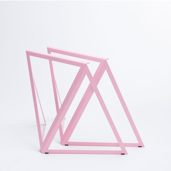 Steel Stand (set of two stands) - pink - Design : NEO/CRAFT