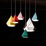 DIAMOND Pendant Light - green 3