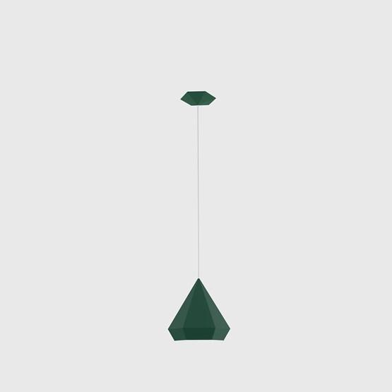 DIAMOND Pendant Light - green - Design : NEO/CRAFT