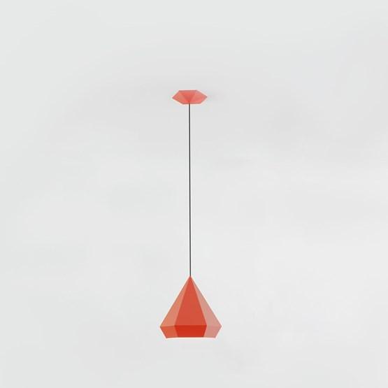 DIAMOND Pendant Light - red - Design : NEO/CRAFT