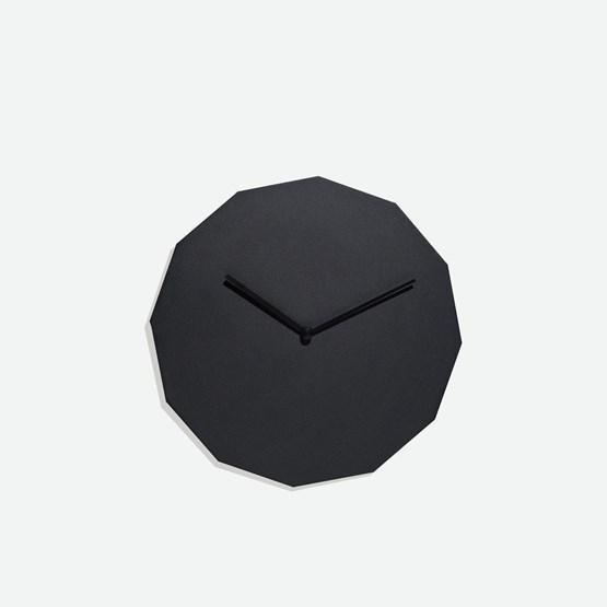 TWELVE clock - black - Design : NEO/CRAFT