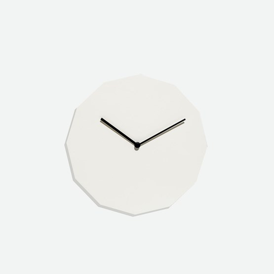 TWELVE clock - grey - Design : NEO/CRAFT