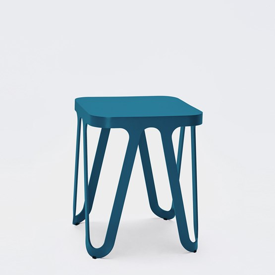 LOOP Stool - blue - Design : NEO/CRAFT