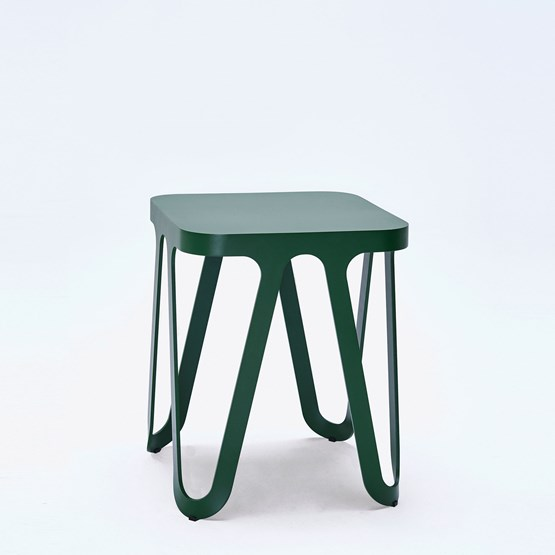 Tabouret LOOP - vert - Design : NEO/CRAFT