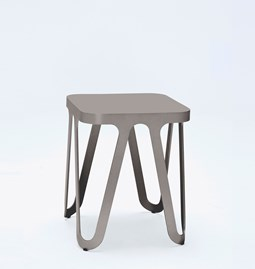 Tabouret LOOP - gris anthracite