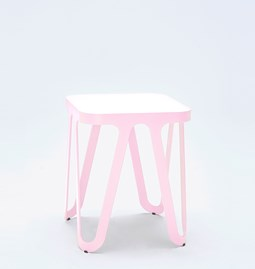 Tabouret LOOP - rose