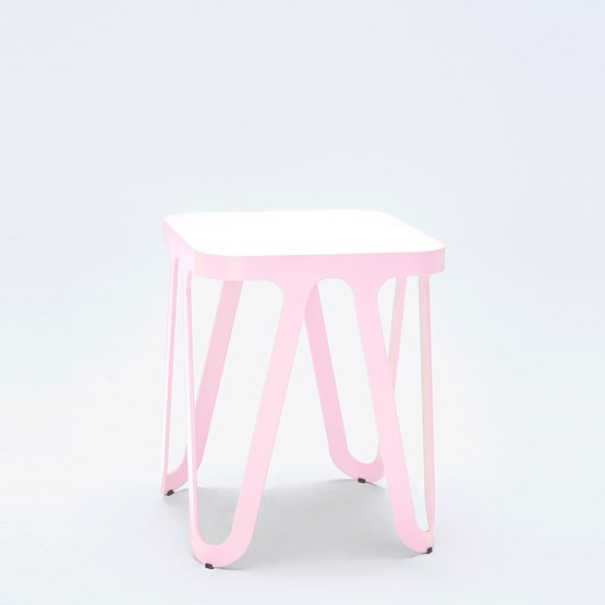 LOOP Stool - pink - Design : NEO/CRAFT