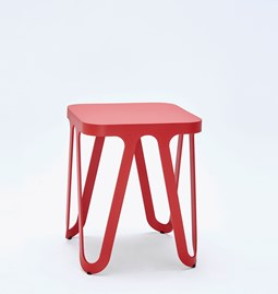 Tabouret LOOP - rouge