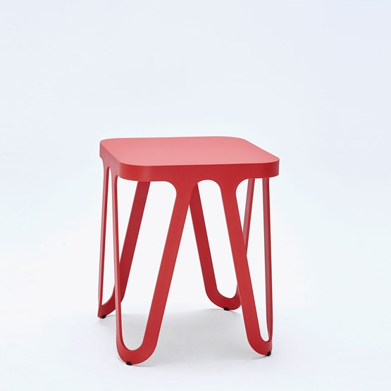 LOOP Stool - red - Design : NEO/CRAFT