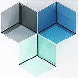 Table d'appoint ISOM SQUARE - multicolore 2
