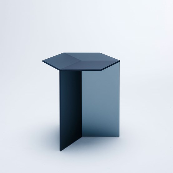 ISOM SQUARE Side Table - black frosted - Design : NEO/CRAFT
