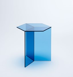 Table d'appoint ISOM SQUARE - bleu
